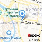Фея на карте Астрахани