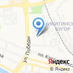Лицей №2 им. В.В. Разуваева на карте Астрахани