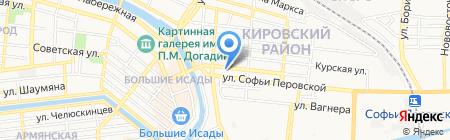 Fenix на карте Астрахани