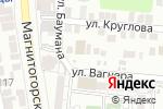 Схема проезда до компании Niloufar в Астрахани