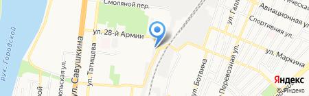 BODYBUILDING SHOP на карте Астрахани
