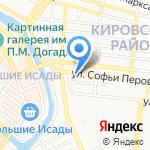 Fox на карте Астрахани
