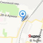 Магазин разливных напитков на карте Астрахани