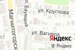 Схема проезда до компании Гараж в Астрахани