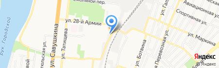 TAPKI30 на карте Астрахани