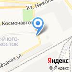 Профи на карте Астрахани