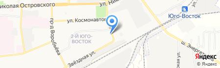 Таисия на карте Астрахани