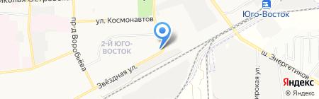 Талантвилль на карте Астрахани