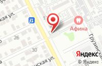 Схема проезда до компании Черемушки в Астрахани