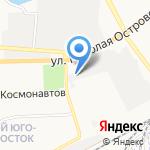 Лонжерон на карте Астрахани