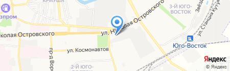 Бош Авто Сервис-Лонжерон на карте Астрахани