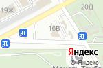 Схема проезда до компании Сеть салонов ритуальных услуг в Астрахани