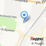 МОЛОТ на карте Астрахани