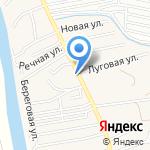 Веселый дачник на карте Астрахани