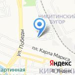 Экспресс-Газель на карте Астрахани