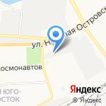 Fiat на карте Астрахани