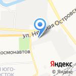 Skoda на карте Астрахани