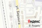 Схема проезда до компании Астраханская транспортная прокуратура в Астрахани