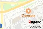 Схема проезда до компании Lada в Астрахани