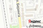 Схема проезда до компании Территориальная организация профсоюза железнодорожников и транспортных строителей на Астраханском отделении ПЖД в Астрахани