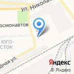 Агентство автострахования на карте Астрахани