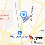 Благосостояние на карте Астрахани