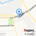 Lada на карте Астрахани