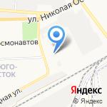 Радуга-А на карте Астрахани