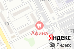 Схема проезда до компании Афина в Астрахани
