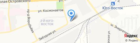 Мойка-Сервис на карте Астрахани