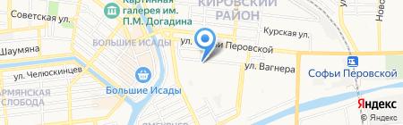 Bambi на карте Астрахани