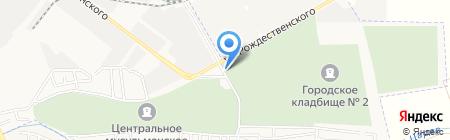 ОлАнд на карте Астрахани