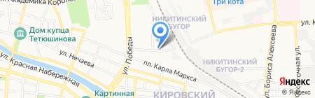 Гарант-Каспий на карте Астрахани
