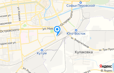 Местоположение на карте пункта техосмотра по адресу г Астрахань, ул Космонавтов, литер Ф