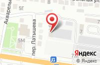 Схема проезда до компании Каспрыбтестцентр в Астрахани