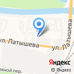 Автоколор на карте Астрахани