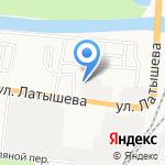 Каспрыбтестцентр на карте Астрахани