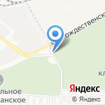 Гранит на карте Астрахани