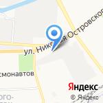 Автосити на карте Астрахани