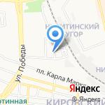 Детский сад №49 на карте Астрахани