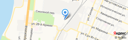 ЮГПЛАСТ на карте Астрахани