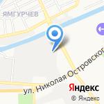 Алексей на карте Астрахани