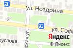 Схема проезда до компании Аксессуары для свадьбы Ольги Кузиной в Астрахани