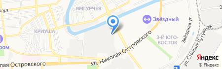 ТерНов на карте Астрахани