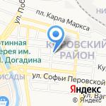 Храм Введения во храм Пресвятой Богородицы на карте Астрахани