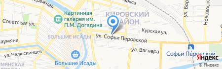 Фирма по прокату свадебных аксессуаров на карте Астрахани