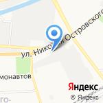 Очаг на карте Астрахани