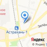 ДЮСШ №3 по баскетболу на карте Астрахани