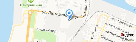 Астраханский станкостроительный завод на карте Астрахани