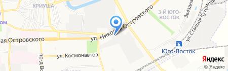 Корпорация праздника на карте Астрахани